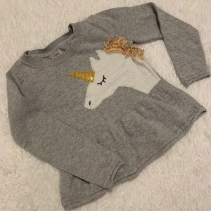 OshKosh Unicorn Sweater 18-24 months